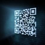 Pixeled QR code illustration — Stock Photo #11590477