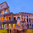 Stock Photo: Colosseum at night, Rome, Italy