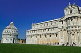 Romanesque style Baptistery Pisa, Italy — Stock Photo