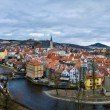 Cesky Krumlov ,Czech republic, UNESCO — Stock Photo