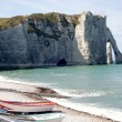 Etretat in Normandy, France — Stock Photo