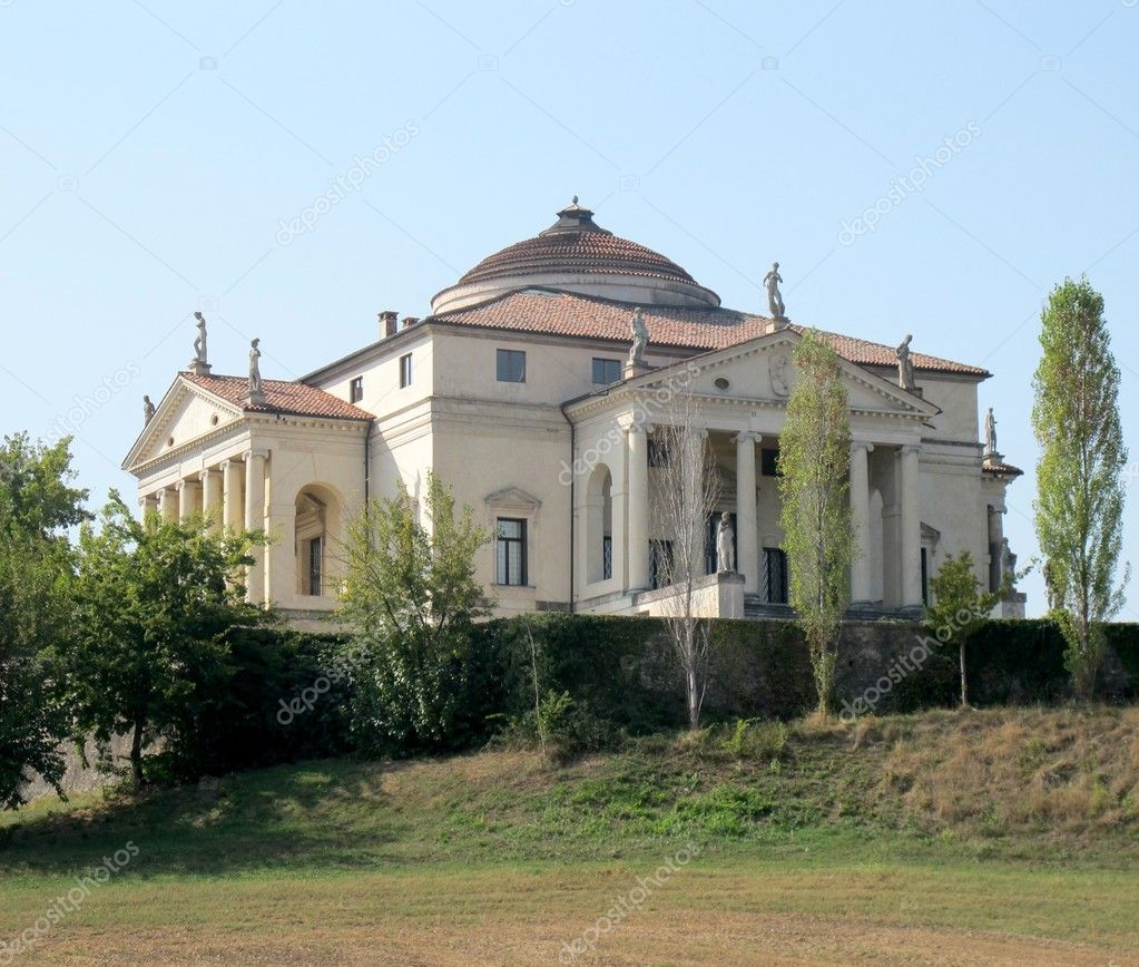 Palladian villas of the Vicenza,Italy — Stock Photo #11984185