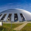 Zadar sport hall cupola panoramic — Stockfoto