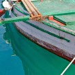 Old wooden fishing boat detail — Stock Photo #11781168