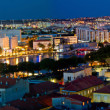 City of Zadar aerial panorama — Stock Photo
