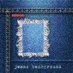 Fondo de moda jeans — Vector de stock