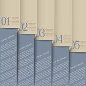 Grey design template — Stock Vector
