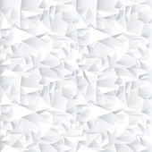 White crystal abstract background — Stock Vector