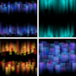 Royalty-Free Stock Vector Image: Abstract backgrounds. Vector set