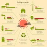 Eco infographic elements — Stock Vector #11959951