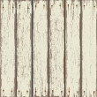 Stock Vector: Old wooden fence