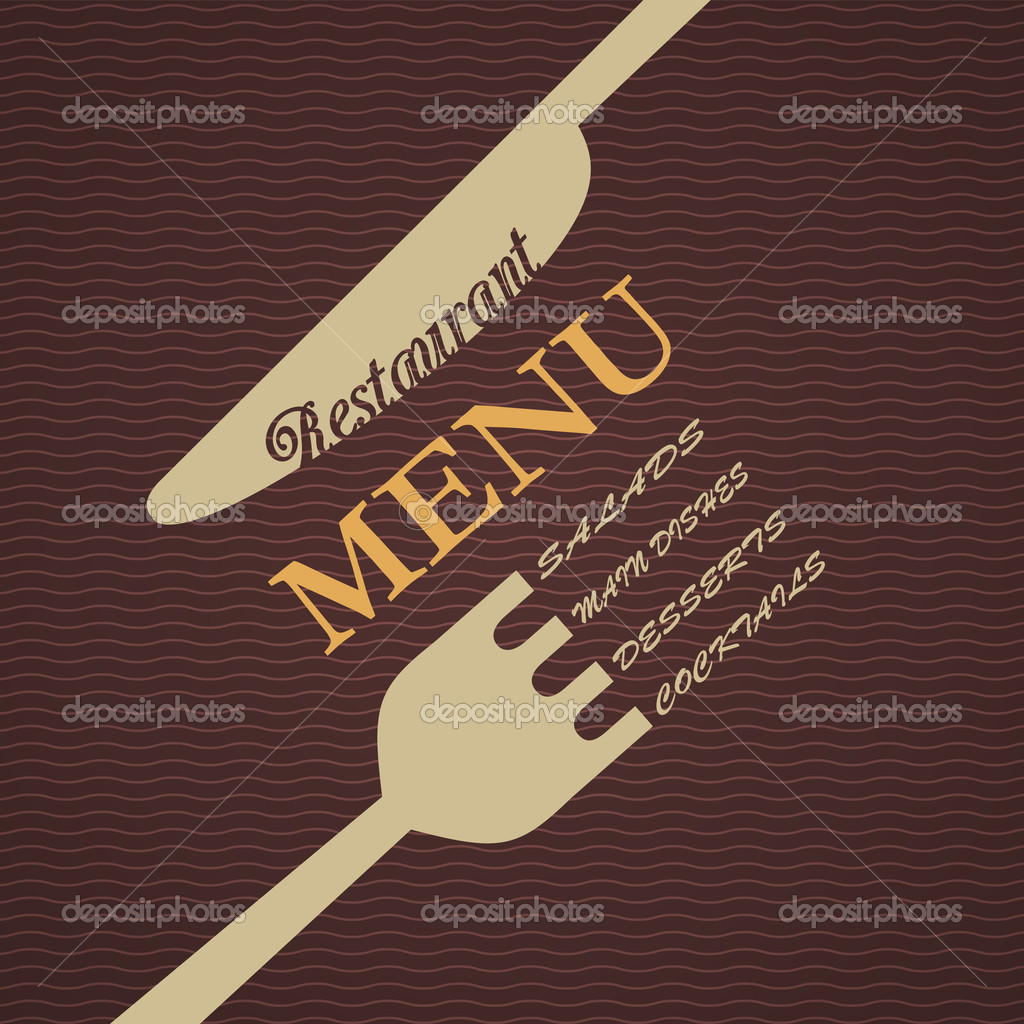Restaurant Menu Design Vector restaurant menu design