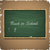 Back to school. Vector illustration — Stock Vector