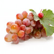 Stock Photo: Bunch of fresh appetizing grapes