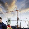 Construction and technology - Stock Photo