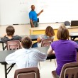 African-American Teacher and Class — Stock Photo #11048421