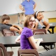 School Kids in Class - Foto de Stock  