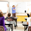 High School Teacher and Class — Stock Photo #11048423