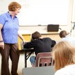 School Class - Testing — Stock Photo