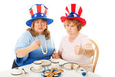 Tea Party Patriots - Fighting Mad — Stock Photo