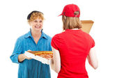 Pizza is Here — Stock Photo