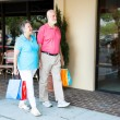 Seniors at Shopping Center — Stock Photo #11417887