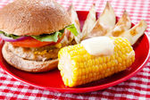 Low Fat Summer Picnic — Stock Photo