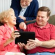 Learning the Tablet PC — Stock Photo #11633260