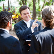 Gay Marriage - Ministers Blessing — Stock Photo