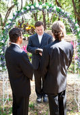 Gay Marriage Ceremony — Stock Photo