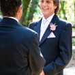 Gay Marriage - Handsome Groom — Stock Photo