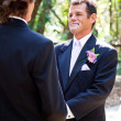 Gay Marriage - Handsome Latino Groom — Stock Photo #11870065