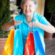 Stock Photo: Shopaholic - Compulsive Shopping