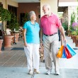 Shopping Hand-in-Hand — Stock Photo #12122993