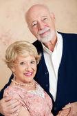 Portrait of Beautiful Senior Couple — Stock Photo
