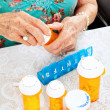 Prescription Pills for the Week - Stock Photo