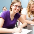Teens in School — Stock Photo #12404284