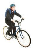 Bicicletta cavallo al lavoro — Foto Stock