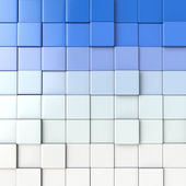 3D cube background — Stock Photo