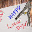 Happy labor day — Stock Photo #12306665