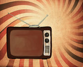 Retro tv — Stock Photo