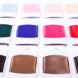 Fabric color samples palette - Stock Photo