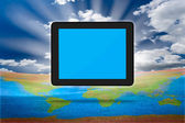 Modern tablet PC (Touch Pad) — Stock Photo