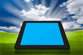 Modern tablet PC (Touch Pad) — Stock fotografie