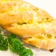 Garlic bread - Stock Photo