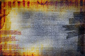 Grunge messy retro abstraction for using background — Stock Photo