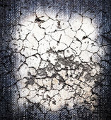 Cracked crement texture — Stock Photo