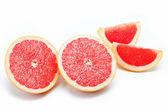 Citrus fruits isolated on a white background. — Stock Photo