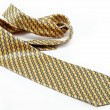 Luxury tie on white background — Stock Photo #10976410