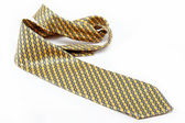Luxury tie on white background — Stock Photo